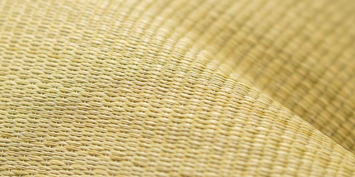 花ゴザ職人の技術で織りあげた最高の品質。